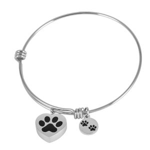Stainless Steel Pet Urn Bracelet Bangle with Charms/Tag Pulseras Mujer Bijoux pictures & photos