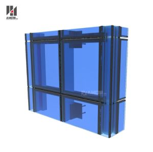 Reflective Toughened Glass Facade Curtain Wall pictures & photos