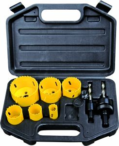Power Tools Accessories Kit 11PCS Carbon Steel Hole Saw Set pictures & photos