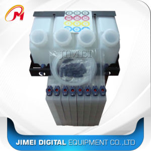 Bulk System 1.5L Eco Solvent Ink Bottle with 8 Cartridge for Mimaki Jv33 Cjv30 Jv5 Ts5 Ts3 Printers pictures & photos