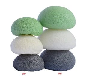 Natural Face Cleanser Cellulose Sponge Konjac Facial Cleaning Sponge pictures & photos