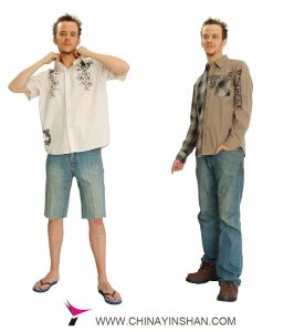 Men′s Short Sleeve Leisure Shirt