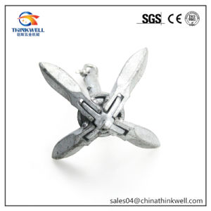 Marine Boat Hardware Hot Dipped Type B Grapnel Folding Anchor pictures & photos