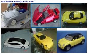CNC Machining Rapid Prototype for Toy Car/Bus pictures & photos