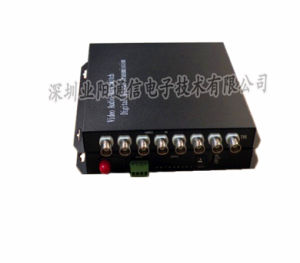 8 Channel Video with 1 Channel Reverse Optical Converter