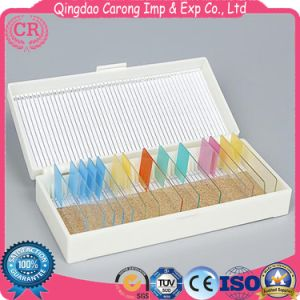 Colorful Disposable Microscope Glass Slides for Laboratory Use pictures & photos