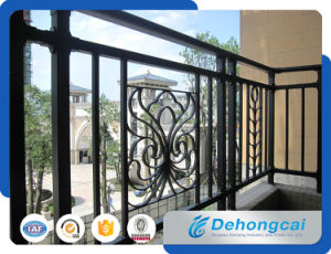 Modern Decorative Wrought Iron Balcony Railing Designs / Metal Balcony Railing pictures & photos