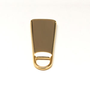 Golden Zipper Pull for Bag Luggage pictures & photos