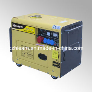 6kw Silent 12HP Diesel Power Engine Generator Set (DG7500SE) pictures & photos