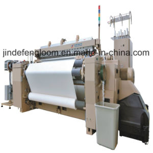 Double Color Denim Fabric Air Jet Shuttleless Weaving Loom Machine pictures & photos