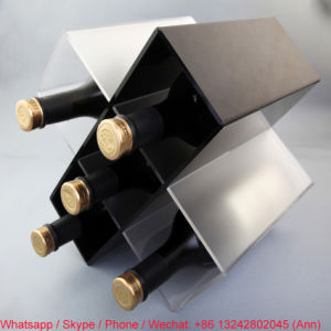 New Design Acrylic Wine Rack pictures & photos