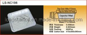 Aluminum Foil Container (LS-NC198)