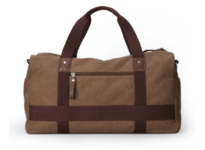 Durable and Fashionable Canvas Tote and Shoulder Travel Duffel Bag (MS2126) pictures & photos