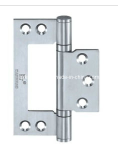 SUS304 Satin Finish Flush Hinge for Wooden Door (KTG-502) pictures & photos