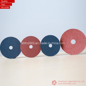 Zirconia & Aluminum Oxide Resin Fiber Discs for Metal pictures & photos