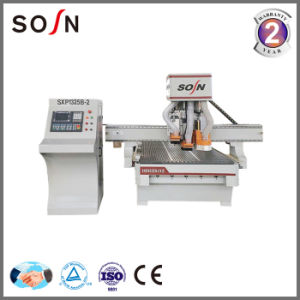 Woodworking Machine CNC Carving Router with Drilling Group pictures & photos