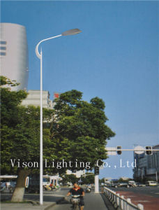 Single Arm Steel Street Lighting Pole LED Light
