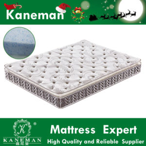 Gel Memory Foam Pillow Top Spring Mattress Vacuum Compress Package to Save Space pictures & photos