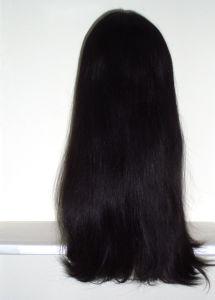 "Top Fashion 100% Virgin European Hair Sheitels Kosher Wigs-22""-Sj052 pictures & photos"