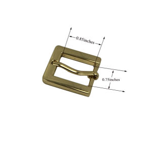 Promotional Cheapest Custom Size Metal Belt Buckle pictures & photos
