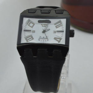 Fashion Man Alloy Quartz Watch with Date Window