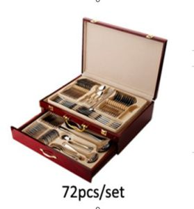 72PCS Stainless Steel Tableware/Cutlery Set High Class Flatware pictures & photos