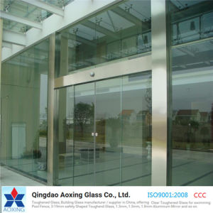Sheet Toughened/Tempered/Safety Glass for Glass Curtain Wall/Building pictures & photos