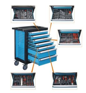 7-Drawer Roller Tool Cabinet with 196 PCS Hand Tools Assortment pictures & photos