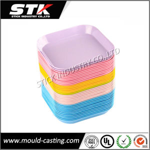 Modern Colorful Plastic Hpde Tray (Non-Disposable, Slip-Proof) pictures & photos