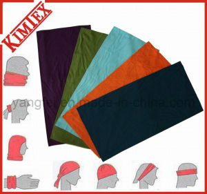 100% Polyester Fashion Solid Color Blank Multi Bandana pictures & photos