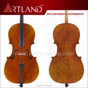 Stradivari 1710 Model Cello Solo Cello High Grade Antique Model Cello pictures & photos