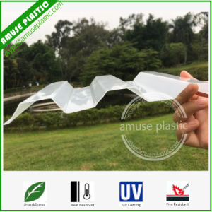 High Quality Plastic PC Solid Roof Tiles Corrugated Polycarbonate Sheets pictures & photos