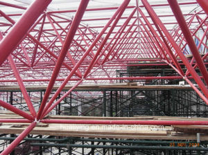 Green Frame Building, Prefabricated Commercial Building Steel Structure pictures & photos
