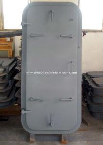 Marine Steel Single Handle Door, Watertight Aluminum Door, Waterproof Door
