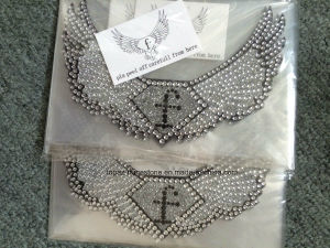 Eagle Wing Adhesive Logo Sticker Body Rhinestone Stickers Tattoo Crystal Sticker (TS-549) pictures & photos