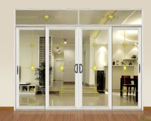 Ritz 2014 Modern Style Aluminium Interior Good Quality Glass Sliding Door pictures & photos