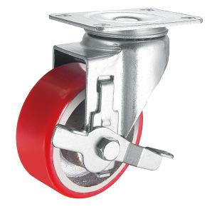 Medium Duty Iron Core PU Wheel Caster (Y3209/Y3210) pictures & photos
