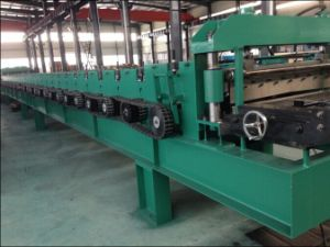 Yx78-306.5-916.4 Metal Deck Roll Forming Machine with Pre-Cutting pictures & photos