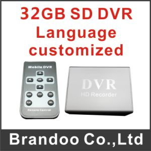 1 Channel SD Card Recording Mini CCTV DVR Recorder pictures & photos