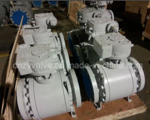 API6d RF Flange Class 300# Carbon Steel Ball Valve pictures & photos