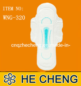 Disposable Super Long Lady Sanitary Napkin Turkey (WNG-320) pictures & photos