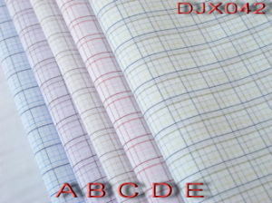 Polyester Cotton Check Yarn Dyed Shirt Fabric Djx042 pictures & photos