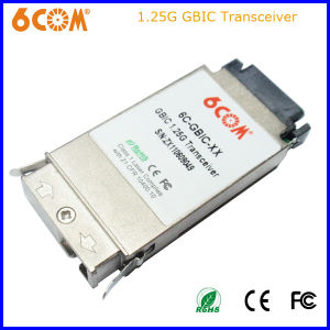 850nm 1.25g 550m Sc Connector GBIC SFP Optical Transceiver