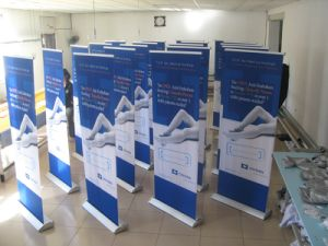 High Quality Ad Roller up Banner pictures & photos