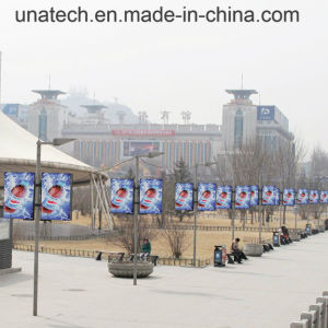 Advertising Outdoor Street Lamp Pole LED Banner Light Box pictures & photos