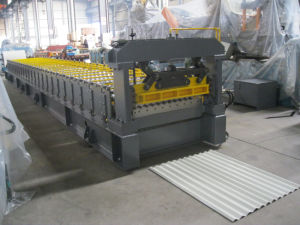 Corrugated Metal Roof Roll Forming Machine pictures & photos