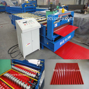 Corrugated Profile Roof Sheet Roll Forming Machine (XF19-76-1057)