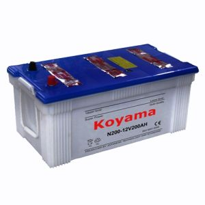 Dry Charge Heavy Duty Truck Battery - N200-12V200ah pictures & photos