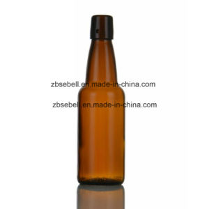 500ml Swing Top Beer Bottle with Amber Clear Color pictures & photos