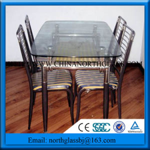 Clear Toughened Safe Tabletop Glass pictures & photos